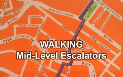 Come Ride the Hong Kong Mid Levels Escalators