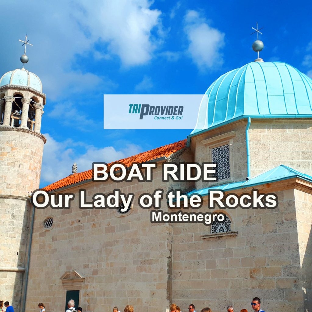 Boatride Our Lady of the Rocks Perast Header Triprovider