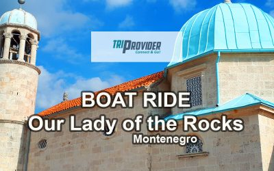 A boat ride to Our Lady of the Rocks, Perast – Montenegro