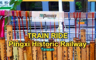 Sky Lanterns and the Pingxi Railway, Taiwan